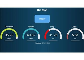 İnternet Hız Testi