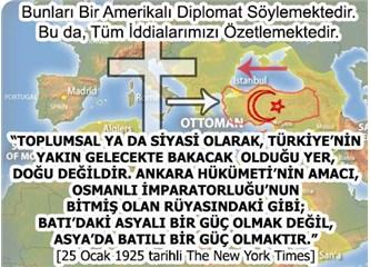 Amerika-Erdoğan Kavgası, 1923'ten Kalan (?!) Mandaterlik Kavgası Mıdır (10/Son)