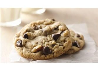 Damla Çikolatalı ve Cevizli Cookies