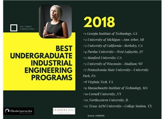 En İyi 10 Endüstri Mühendisliği Programı - Amerika