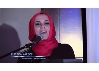 """Elif Eda Karagöz """"Filmlerimi Bir Propaganda Aracı Olarak Kullanmam"""""""