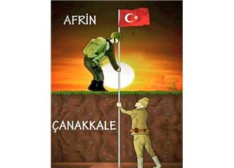 Açan Güller İçinde Afrin'de Zafere Ulaşıldı