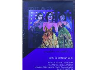 """Ömür Eke """"Renkler ve Sesler"""" ile Maksut Varol Sanat Galerisi'nde..."""