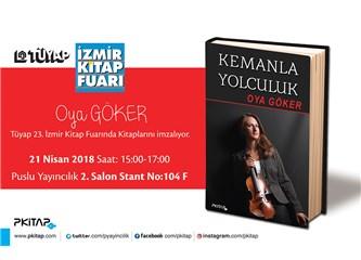 23. Tüyap İzmir Kitap Fuarında 21 Nisan Günü Kitaplarımı İmzalayacağım.