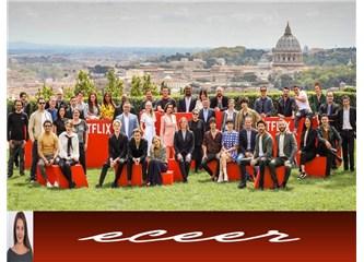 Çağatay Ulusoy Dünya Starı Oldu- Netflix Roma'da  Koruyucu Dizisini Dünyaya Tanıttı