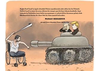 """""""Katil İsrail ile İşbirlikçileri"""" ve """"Sessizliğe Bürünmüş Sözde Müslümanlar"""""""