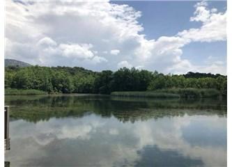 Gül ile Gölün Aşkı Isparta'da Yaşanır