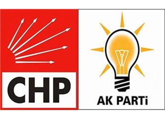 Sorunlara Bakış; AKP: Fakire Zengin Elbisesi Giydirmek, CHP: Karnını Doyurayım Çıplak Gezsin