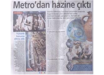 Bazı Yerlerde Metro Çalışması Belki Kazılarda Bir Şey Buluruz Diye Yapılıyormuş, Amma da Güldüm!