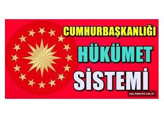 Cumhurbaşkanlığı Hükümet Sistemi...Türkiye ve Dünya Tarihi'ne Not Düşürecek Önemli Bir Siyasi Adım..