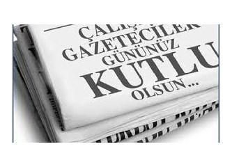 24 Temmuz Gazeteciler ve Basın Bayramı