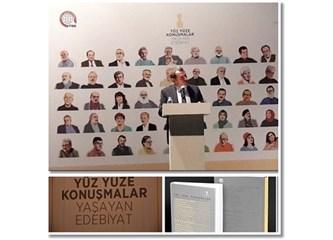 """""""Yüz Yüze Konuşmalar  / Yaşayan Edebiyat""""  Projesi Tanıtımı"""