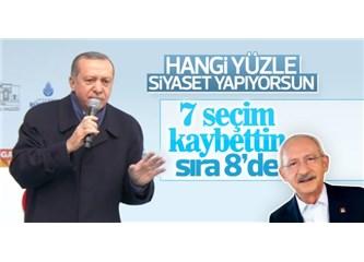 Erdoğan Seçim Kaybetse Gider miydi; Kaybetmediği İçin Bilmiyoruz