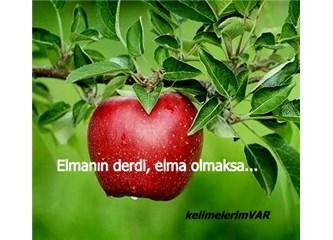 Elmanın Derdi, Elma Olmaksa...