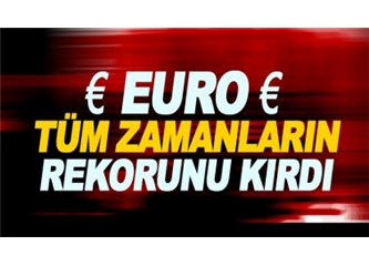 Dolar Krizinin Arkasında ABD Varmış, Euro da Yükseliyor Onun Arkasında Kim Var?