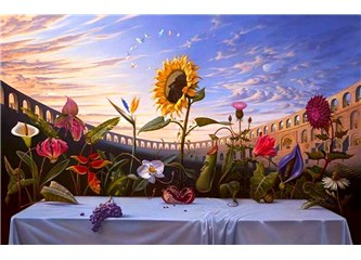 En Çok Bıraktığın Çiçeklere Bakmaktan Usanıyorum!