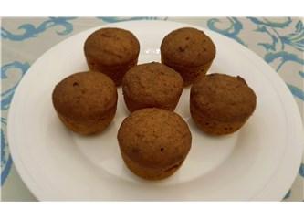 Glutensiz - Sütsüz - Rafine Şekersiz Tahinli Cevizli Fincan Kek Tarifi