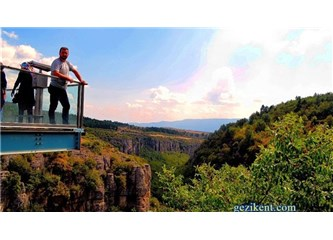 Tokatlı Kanyonu Üzerindeki İncekaya Kristal Cam Seyir Terası - Safranbolu