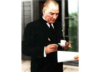 Atatürk Bizim Evde Kahve İçmiş