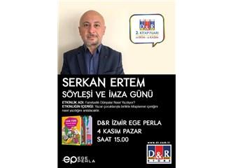 Yazar Serkan Ertem ile....