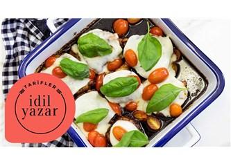 Mozzarella Peynirli Tavuk Tarifi