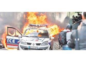 """Fransa'da  """"Gezi"""" Olayları!"""