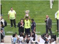 Tribünden Süper Kupa Finali