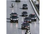 Recep Tayyip Erdoğan ve koruma ordusu