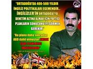 PKK- Öcalan-İngiliz derin devleti üçgeni...
