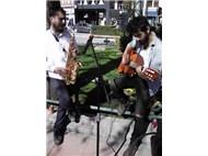 Eskişehir'de  '' Sokak müzisyenleri  ''