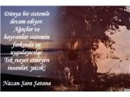 NAZAN ŞARA ŞATANA SÖZLERİ