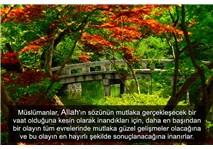 Mümin İslam'a hizmet etme konusunda şevksiz ve uyuşuk olmaz- 2...