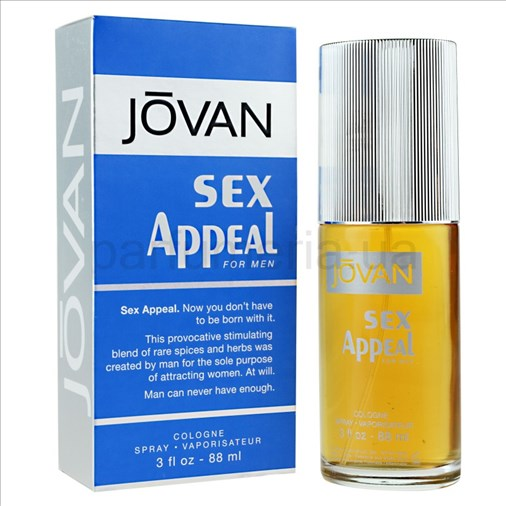 Jovan sex appeal cologne review